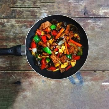 mantar soslu tavuk (700 G)